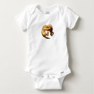 Body Para Bebê Leão do ouro