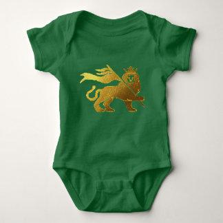 Body Para Bebê Leão dourado de Judah