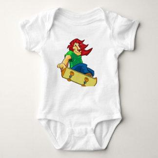 Body Para Bebê Leão em um conselho
