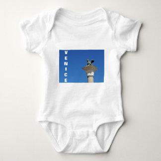 Body Para Bebê Leão Venetian