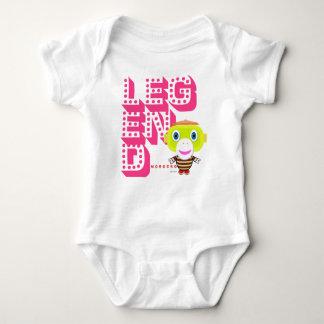 Body Para Bebê Legenda do Bodysuit   do bebê por Morocko
