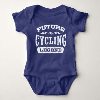 Body Para Bebê Legenda futura do ciclismo