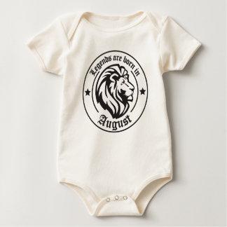 Body Para Bebê Legends are born in August