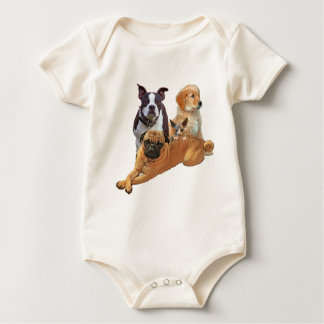 Body Para Bebê Legião do cão com gato