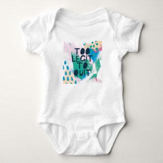 Body Para Bebê Legit brilhante da inspiração III | demasiado a