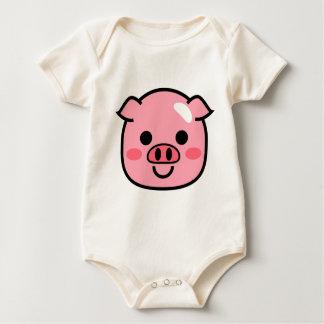 Body Para Bebê Leitão