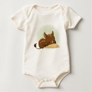 Body Para Bebê Leitão bonito do varrão do sono