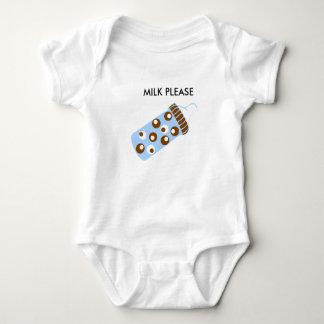 Body Para Bebê leite por favor