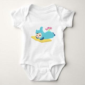 Body Para Bebê Leitura do amor do bebê