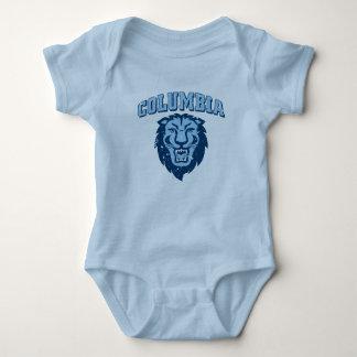 Body Para Bebê Leões da Universidade de Columbia | - vintage