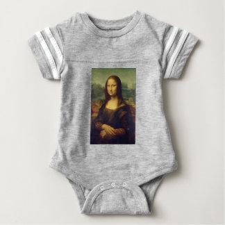 Body Para Bebê Leonardo da Vinci - pintura de Mona Lisa