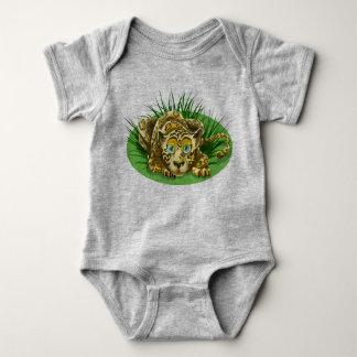 Body Para Bebê Leopardo bonito