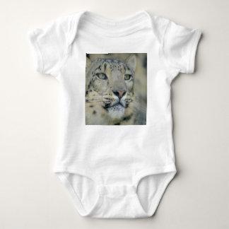 Body Para Bebê leopardo de neve