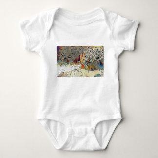 Body Para Bebê Leopardo no furo de água