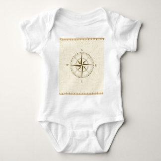 Body Para Bebê leste ocidental sul do vintage do compasso