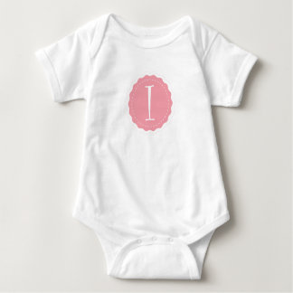 """Body Para Bebê Letra customizável """"eu """""""