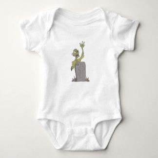 Body Para Bebê Levantamento do zombi assustador grave com Rotting