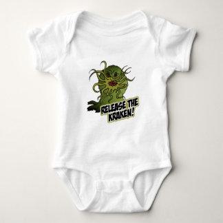 Body Para Bebê libere o kraken