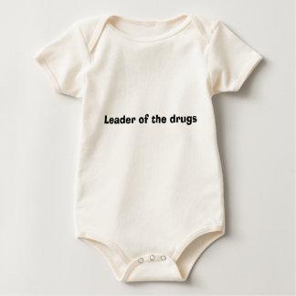 Body Para Bebê Líder das drogas