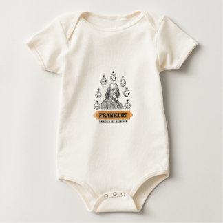 Body Para Bebê Líder de Ben da ciência