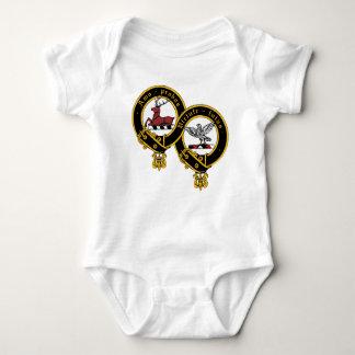Body Para Bebê Ligação em ponte de bebê da crista de Blair do clã