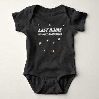 Body Para Bebê Ligação em ponte de bebê da próxima geração