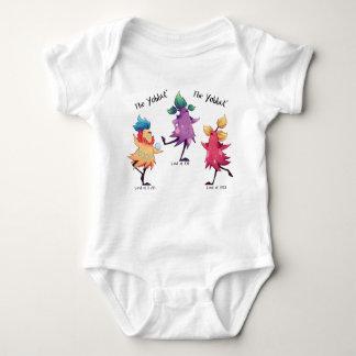 Body Para Bebê Ligação em ponte de bebê de Yabbuts da dança