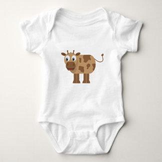 Body Para Bebê Ligação em ponte de bebê dos animais do bebê