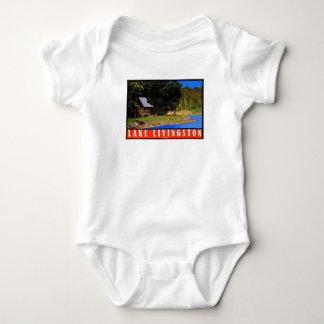 Body Para Bebê Ligação em ponte de bebê retro de Livingston do