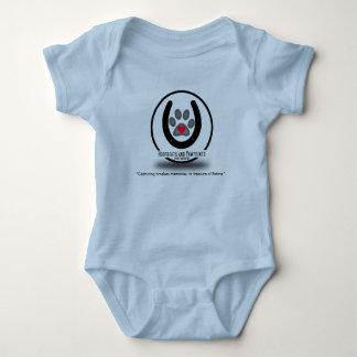 Body Para Bebê Ligação em ponte Legless do bebê do logotipo de