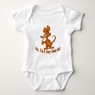 Body Para Bebê Limpe o rato