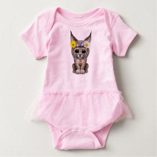 Body Para Bebê Lince bonito Cub do Hippie