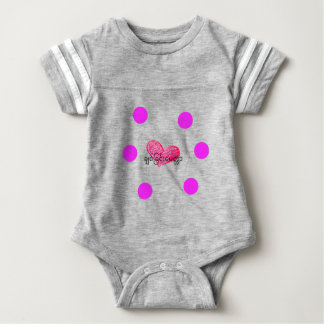 Body Para Bebê Língua Burmese (de Myanmar) do design do amor