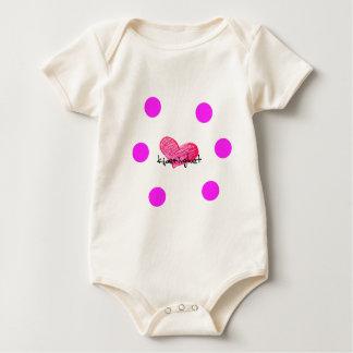 Body Para Bebê Língua norueguesa do design do amor