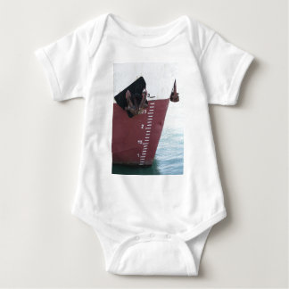 Body Para Bebê Linha de flutuação marcada no navio com numeração