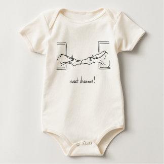 Body Para Bebê Linhas do pônei - sonhos doces! -IE