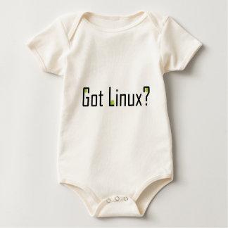 Body Para Bebê Linux obtido? - Texto preto