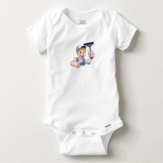 Body Para Bebê Líquido de limpeza de janela que guardara o rodo
