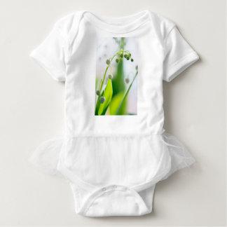 Body Para Bebê Lírio das flores do vale