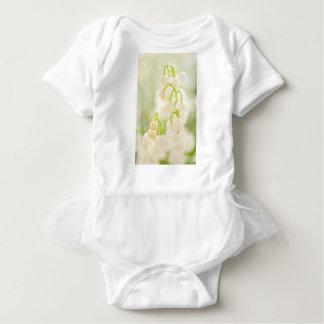 Body Para Bebê Lírio do esboço do grupo da flor do vale