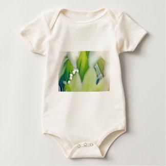Body Para Bebê Lírio do esboço do vale