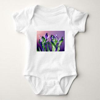 Body Para Bebê Lírio do vale na lavanda