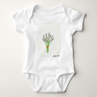 Body Para Bebê Lírios de Calla