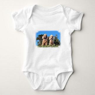 Body Para Bebê Lixívia - caniches - Romeo Remy