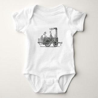 Body Para Bebê Locomotiva de vapor adiantada