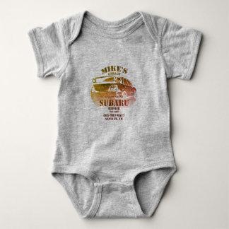 Body Para Bebê Logotipo da cor de água