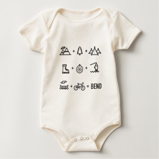 Body Para Bebê Logotipo da equação das atividades de Oregon da