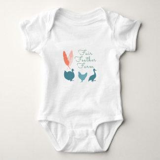 Body Para Bebê Logotipo da fazenda da pena de FarmTransparentFair