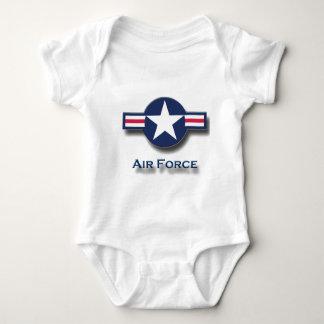 Body Para Bebê Logotipo da força aérea