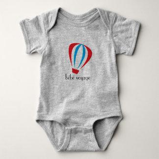 Body Para Bebê Logotipo da viagem de BeBe